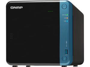 QNAP TS-453Be-2G-US 4-Bay Professional NAS. Intel Celeron Apollo Lake J3455 Quad-core CPU Hardware Encryption