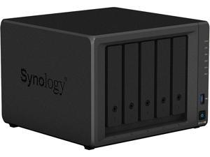 Synology DS1019+ Network Storage, Scalable 5-bay NAS for Small Offices and IT Enthusiasts