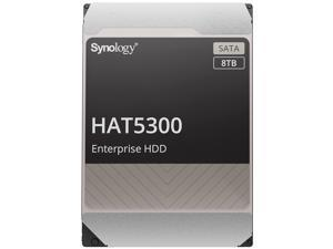 "Synology HAT5300-8T Enterprise 8TB HDD SATA III 6Gb/s 512e 7200 RPM 256MB Cache 3.5"" Internal Hard Drive"