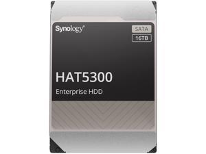 "Synology HAT5300-16T Enterprise 16TB HDD SATA III 6Gb/s 512e 7200 RPM 512MB Cache 3.5"" Internal Hard Drive"