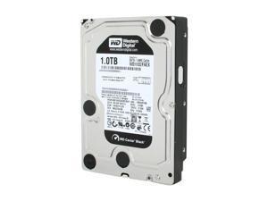 """Western Digital Black WD1002FAEX 1TB 7200 RPM 64MB Cache SATA 6.0Gb/s 3.5"""" Internal Hard Drive Bare Drive"""