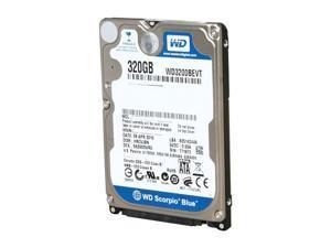 Western Digital 320GB Scorpio Blue SATAII 5400RPM 2.5IN 8MB Bulk/OEM Hard Drive