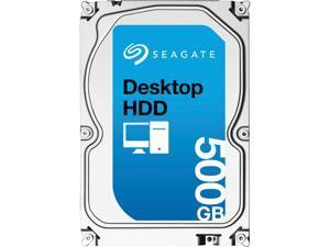 "Seagate Desktop HDD ST500DM002 500GB N/A 16MB Cache SATA 6.0Gb/s 3.5"" Internal Hard Drive Bare Drive"