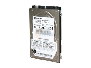 "TOSHIBA MK2035GSS 200GB 4200 RPM 8MB Cache SATA 1.5Gb/s 2.5"" Internal Notebook Hard Drive Bare Drive"
