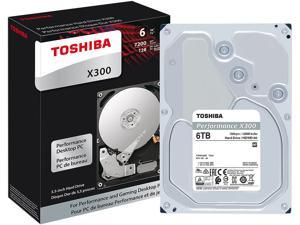Toshiba X300 6TB Performance & Gaming Internal Hard Drive 7200 RPM SATA 6Gb/s ...