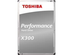 """TOSHIBA X300 HDWE140UZSVA 4TB 7200 RPM 128MB Cache SATA 6.0Gb/s 3.5"""" Internal Hard Drive"""
