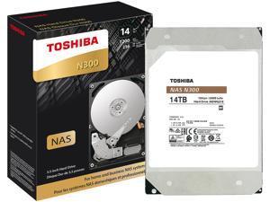 "TOSHIBA N300 HDWG21EXZSTA 14TB 7200 RPM 256MB Cache SATA 6.0Gb/s 3.5"" Internal Hard Drive Retail"