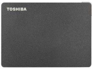 TOSHIBA 4TB Canvio Gaming Portable External Hard Drive USB 3.0 Model HDTX140XK3CA Black