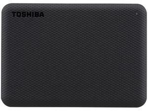 TOSHIBA 2TB Canvio Advance Portable External Hard Drive USB 3.0 Model HDTCA20XK3AA Black