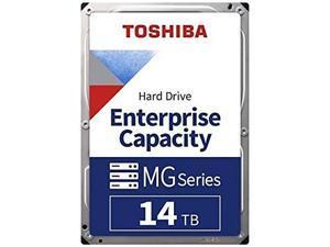 "Toshiba 14TB Enterprise HDD SATA 6.0Gb/s 512e 7200 RPM 512MB Cache 3.5"" Internal Hard Drive MG08ACA14TE"