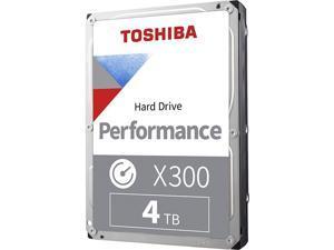 "TOSHIBA X300 HDWR440XZSTA 4TB 7200 RPM 256MB Cache SATA 6.0Gb/s 3.5"" Desktop Internal Hard Drive Retail Packaging"