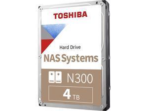 "TOSHIBA N300 HDWG440XZSTA 4TB 7200 RPM 256MB Cache SATA 6.0Gb/s 3.5"" Internal Hard Drive Retail"