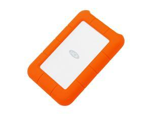 LaCie 1TB Rugged Mini External Hard Drive USB 3.0 Model LAC301558 Orange