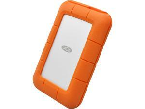 LaCie Rugged Thunderbolt/USB-C 5TB Portable Hard Drive