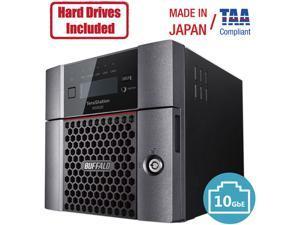 Buffalo TeraStation WS5220DN Windows Server IoT 2019 Standard 8TB 2 Bay Desktop (2x2TB) NAS Hard Drives Included RAID iSCSI