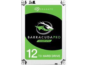 "Seagate BarraCuda Pro ST12000DM0007 12TB 7200 RPM 256MB Cache SATA 6.0Gb/s 3.5"" Internal Hard Drive Bare Drive"