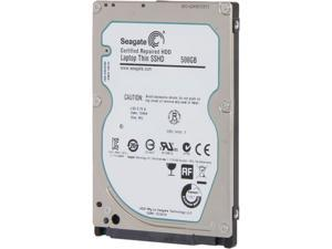 "Seagate Hybrid Drives ST500LM000 500GB MLC/8GB 64MB Cache SATA 6.0Gb/s NCQ 2.5"" Laptop SSHD - Bare Drive"