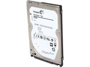 "Seagate Momentus Thin ST500LT012 500GB 5400 RPM 16MB Cache SATA 3.0Gb/s 2.5"" Internal Notebook Hard Drive Bare Drive"