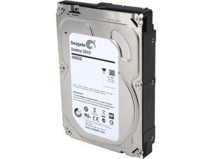 "Seagate ST4000DX001 4TB+8GB NAND Flash 64MB Cache SATA 6.0Gb/s 3.5"" Desktop Solid State Hard Drive Bare Drive"