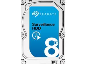"Seagate Surveillance HDD ST8000VX0002 8TB 256MB Cache SATA 6.0Gb/s 3.5"" Internal Hard Drive Bare Drive"
