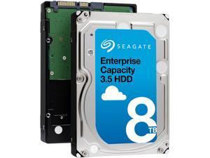 Seagate Enterprise Capacity 3.5'' HDD 8TB 7200 RPM 4Kn SATA 6Gb/s 256MB Cache Internal Hard Drive ST8000NM0045