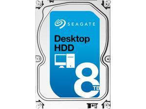 "Seagate Desktop HDD ST8000DM002 8TB N/A 256MB Cache SATA 6.0Gb/s 3.5"" Internal Hard Drive Bare Drive"