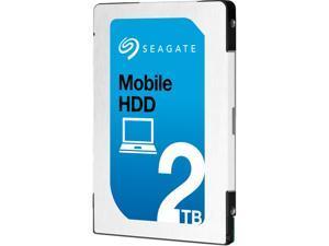 "Seagate ST2000LM007 2TB 128MB Cache SATA 6.0Gb/s 2.5"" Internal Notebook Hard Drive"