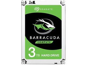 "Seagate BarraCuda ST3000DM008 3TB 7200 RPM 64MB Cache SATA 6.0Gb/s 3.5"" Hard Drive Bare Drive"