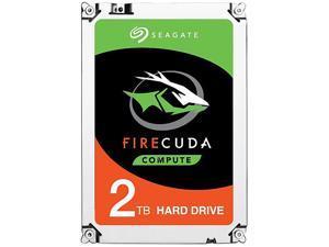 "Seagate FireCuda Gaming SSHD 2TB 7200 RPM 64MB Cache SATA 6.0Gb/s 3.5"" Internal Hard Drive ST2000DX002"