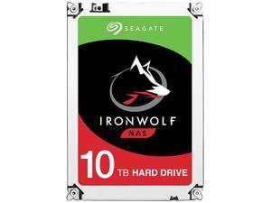 "Seagate IronWolf 10TB NAS Hard Drive 7200 RPM 256MB Cache SATA 6.0Gb/s 3.5"" Internal Hard Drive ST10000VN0004"