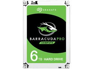 """Seagate BarraCuda Pro ST6000DM004 6TB 7200 RPM 256MB Cache SATA 6.0Gb/s 3.5"""" Hard Drive Bare Drive"""