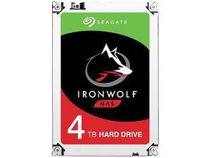 "Seagate IronWolf 4TB NAS Hard Drive 5900 RPM 64MB Cache SATA 6.0Gb/s 3.5"" Internal Hard Drive ST4000VN008"