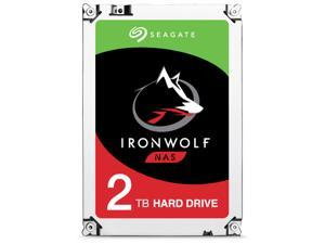 "Seagate IronWolf 2TB NAS Hard Drive 5900 RPM 64MB Cache SATA 6.0Gb/s 3.5"" Internal Hard Drive ST2000VN004"