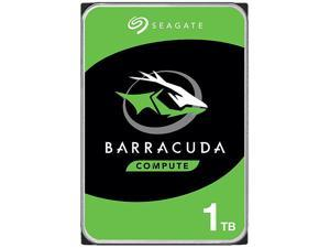 "Seagate BarraCuda ST1000DM010 1TB 7200 RPM 64MB Cache SATA 6.0Gb/s 3.5"" Hard Drive Bare Drive"