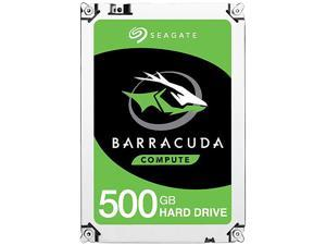 "Seagate BarraCuda ST500DM009 500GB 7200 RPM 32MB Cache SATA 6.0Gb/s 3.5"" Hard Drive Bare Drive"