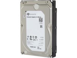Seagate Enterprise Capacity 3.5'' HDD 2TB 7200 RPM 4Kn SATA 6Gb/s 128MB Cache Internal Hard Drive ST2000NM0105