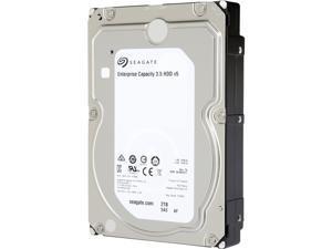 Seagate Enterprise Capacity 3.5'' HDD 2TB 7200 RPM 512e SAS 12Gb/s 128MB Cache Internal Hard Drive ST2000NM0135