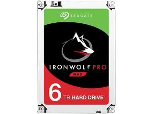 "Seagate IronWolf Pro 6TB NAS Hard Drive 7200 RPM 256MB Cache SATA 6.0Gb/s 3.5"" Internal Hard Drive ST6000NE0021"