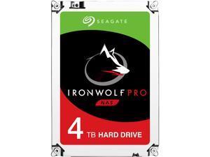 "Seagate IronWolf Pro 4TB NAS Hard Drive 7200 RPM 128MB Cache SATA 6.0Gb/s 3.5"" Internal Hard Drive ST4000NE0025"
