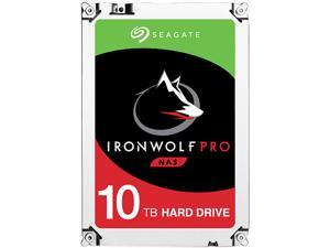 "Seagate IronWolf Pro 10TB NAS Hard Drive 7200 RPM 256MB Cache SATA 6.0Gb/s 3.5"" Internal Hard Drive ST10000NE0004"