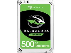 "Seagate 500GB BarraCuda 5400 RPM 128MB Cache SATA 6.0Gb/s 2.5"" Laptop Internal Hard Drive ST500LM030"