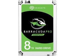 """Seagate BarraCuda Pro ST8000DM0004 8TB 7200 RPM 256MB Cache SATA 6.0Gb/s 3.5"""" Hard Drive Bare Drive"""