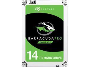 "Seagate BarraCuda Pro ST14000DM001 14TB 7200 RPM 256MB Cache SATA 6.0Gb/s 3.5"" Internal Hard Drive"