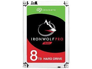 "Seagate IronWolf Pro 8TB NAS Hard Drive 7200 RPM 256MB Cache CMR SATA 6.0Gb/s 3.5"" Internal HDD ST8000NE001"