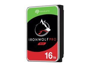 "Seagate IronWolf Pro 16TB NAS Hard Drive 7200 RPM 256MB Cache CMR SATA 6.0Gb/s 3.5"" Internal HDD ST16000NE000"