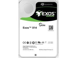 """Seagate Exos X14 ST10000NM0478 10TB 7200 RPM 256MB Cache SATA 6.0Gb/s 3.5"""" Internal Hard Drive, 512e Bare Drive"""