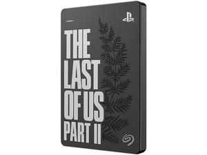 Seagate 2TB Game Drive for PS4 Portable Hard Drive - The Last of Us Part II Limited Edition USB 3.0 Model STGD2000103 Grey