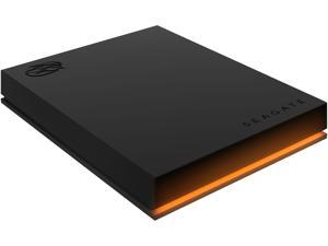 Seagate FireCuda Gaming Hard Drive External Hard Drive 2TB - USB 3.2 Gen 1, RGB LED Lighting for PC and Mac with Rescue Services (STKL2000400)