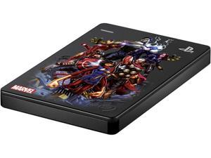 Seagate 2TB Portable Hard Drive USB Model STGD2000104 Avengers Assemble