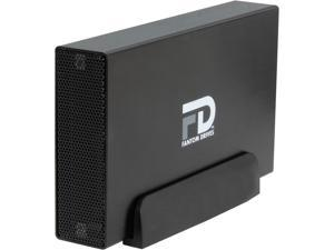 Fantom Drives G-Force 3TB USB 3.0 / eSATA Aluminum Desktop External Hard Drive GF3B3000EUA Black
